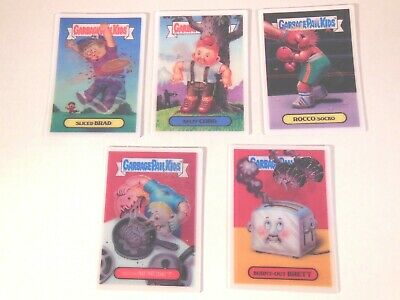 2008  08  Garbage Pail Kids GPK  ANS Series 7 LOCO MOTION card Set  5 cards