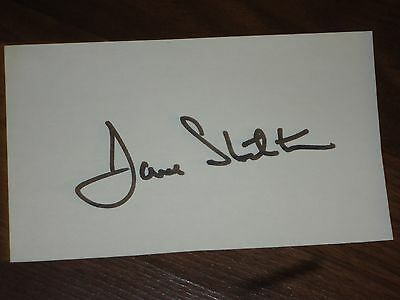 Dave Stockton Golfer Signed 3x5 index Card
