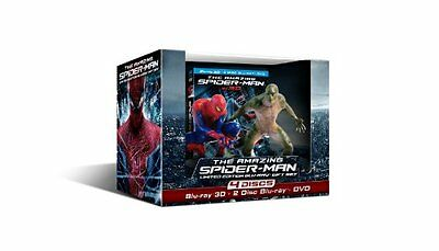 The Amazing Spider-Man (Limited Edition Four-Disc Combo: Blu-ray 3D/Blu-ray/DVD