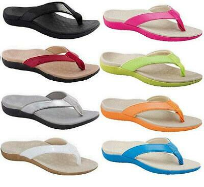 Scholl Orthaheel Sonoma Thong CHOOSE COLOUR & SIZE - Orthotic Sandle Shoe Comfy