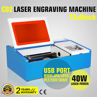 graviermaschine CO2 carving cutting tool fräsgrät laser engraving engraver 40w