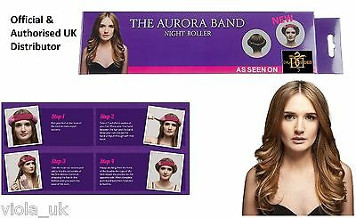 The Aurora Headband Night Roller Natural Hair Curls Sleeping Roller Hair Band UK
