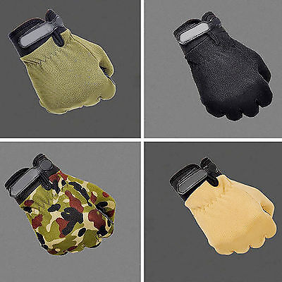 UP Men Military Tactical Airsoft Shooting Hunting Full Finger Gloves 3 Size