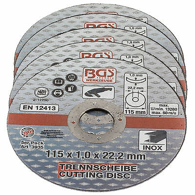 Cutting disc 115 x1.0 stainless steel VA Metal Steel Angle grinder for Flex disc