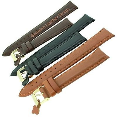 High Qulity Genuine Leather Watch Strap Band with Stainless Steel Buckle