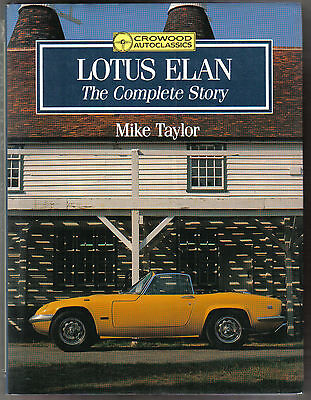 Lotus Elan The Complete Story 1962 to 1973 devpt production buying restoring +