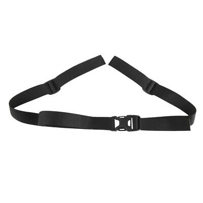 Outdoor Mountaineering Travel Luggage Suitcase Bag Backpack Strap Belt Black