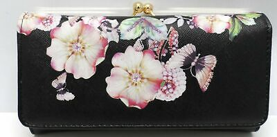 Womens Ladies Celerbrity Real Leather Credit Card Coin Wallet Purse