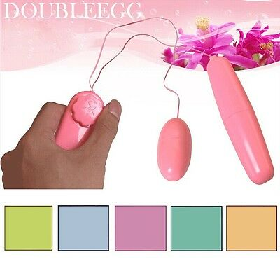 Love Egg - Vibrating Sex - Double-Vibrator Toy - FREE SHIPPING