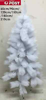 Deluxe White Snow Frozen Christmas Tree Home Decoration Xmas Trees Party Gift