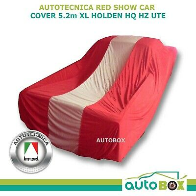 Show Car Cover for Holden HQ HZ Ute Extra Large 5.2M Red Softline Indoor Dust