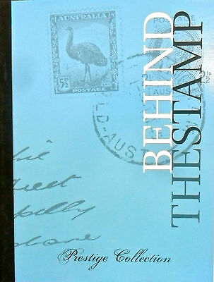 Australian Stamps: Behind the Stamps (Blue) Prestige Collection Booklet