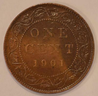 1901 XF Canadian Large Cent, #12