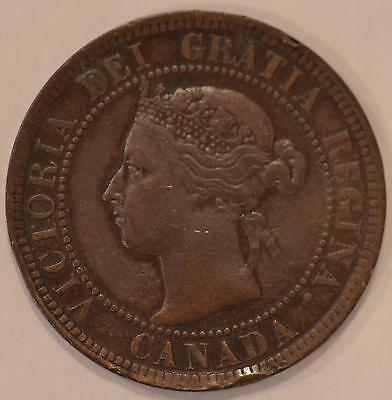 1901 XF Canadian Large Cent, #16