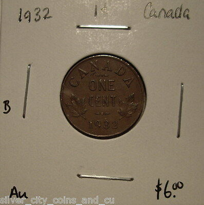 B Canada George V 1932 Small Cent - AU