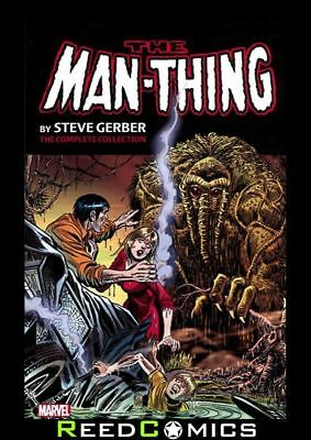 MAN THING BY STEVE GERBER COMPLETE COLLECTION VOLUME 1 GRAPHIC NOVEL Paperback