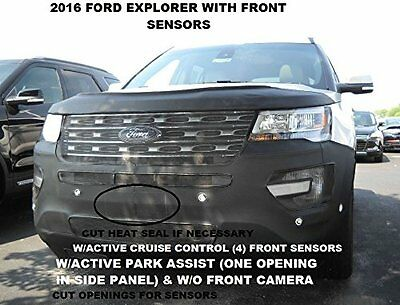 LeBra BRAND NEW! 2016-2017 Ford Explorer Front End Cover Hood Mask Bra 551512-01