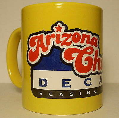 Arizona Charlie's Decatur Casino & Hotel Souvenir Yellow Mug