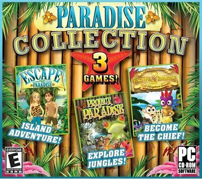 3 NEW PC Paradise Collection Pack Explore Jungle PC NEW