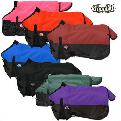 Tough-1 600D Waterproof Poly Miniature Turnout Winter Horse Blanket 250 Gsm