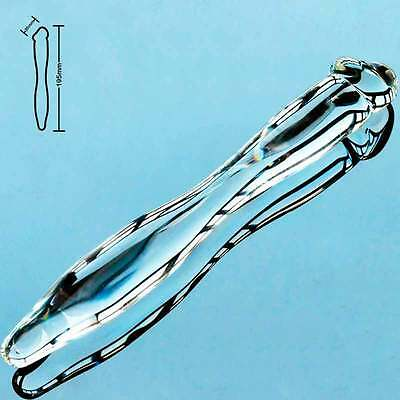 Double Ended - Headed - Glass Dildo-Long 19cm