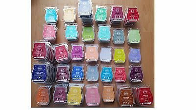 Brand New Scentsy Wax Bars / Scentsy Warner Bars Choose Your Favorite Fragrances