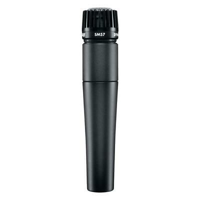 Shure SM57 LC Instrument Microphone Dynamic Cardioid Pattern