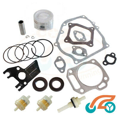 Rebuild Kit for Honda GX160 GX200 5.5HP 6.5HP Piston Rings Gaskets & Insulator
