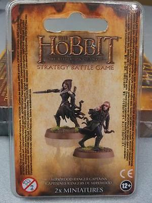 Mirkwood Ranger Captains - Hobbit - Finecast Warhammer Lord Of The Rings Blister
