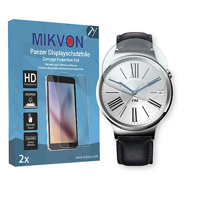 2x Mikvon Armor Screen Protector for HuaweiWatch Retail Package + accessories