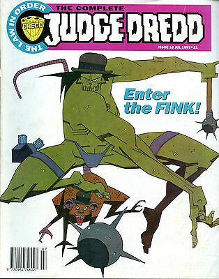The Complete Judge Dredd Enter the Fink Issue 18 July 1993 Fleetway Editions