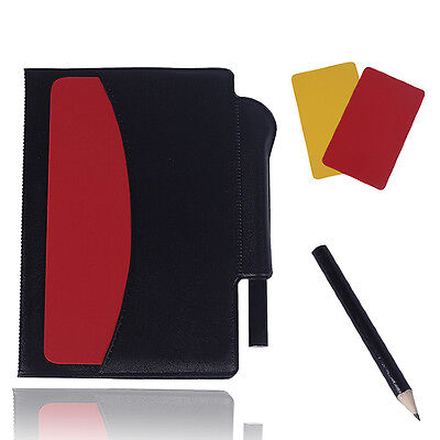 Ney Sport Football Soccer Referee Wallet with Red Card and Yellow Card Notebook