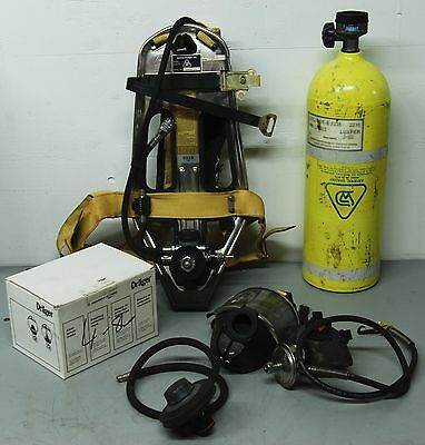 National Draeger PA-80FS Self-Contained Breathing Apparatus Kit