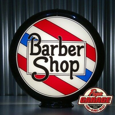 Barber Shop Pole Advertising Globe -  Made by Pogo's Garage