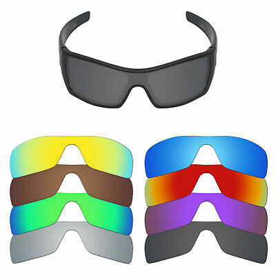 MRY POLARIZED Replacement Lenses for-Oakley Batwolf Sunglasses - Option Colors