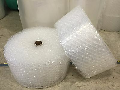 "ZV 1/2"" x 12"" x 500' 500FT Large Clear Bubble Padding Cushioning Wrap Roll"