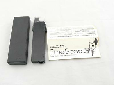 Listar Finescope vintage Magnifier x 30 magnification wide field view