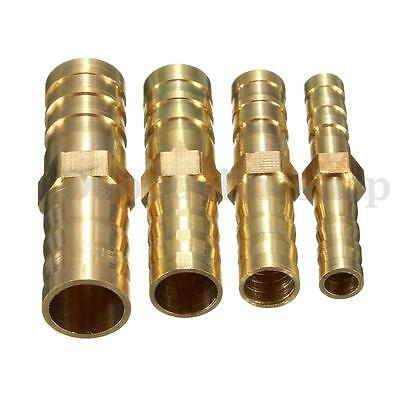 Brass Hose Tail Connectors Pipe Repairers Fuel Water Air Hose Repair 6/8/10/12mm