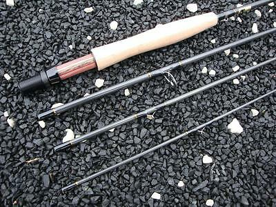 """Forsyth Carbon Fibre 9"""" 4 section 5/6 weight fly rod"""