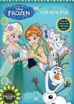 FROZEN STICKER PAD: Scenes with stickers from Frozen characters : WH3 624 : NEW
