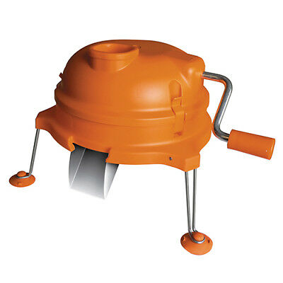 "Dynamic Dynacube Vegetable Cutter Model DC3 Size 8.5x8.5/ 1/4""-Orange"