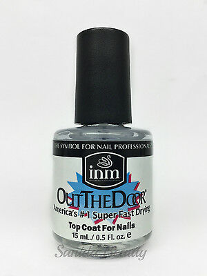 INM- Out The Door Fast Drying Nail Top Coat 0.5oz /15ml