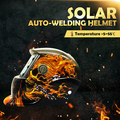 Solar Auto Darkening Welding Helmet Mask ARC/TIG Welder Machine