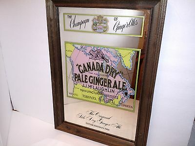 Canada Dry Mirror Sign - The Champagne of Ginger Ales JJ McLaughlin