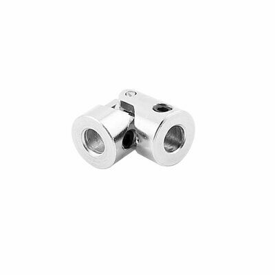 5mm to 5mm Inner Dia. Stainless Steel Rotatable Universal Joint w Tight Screws