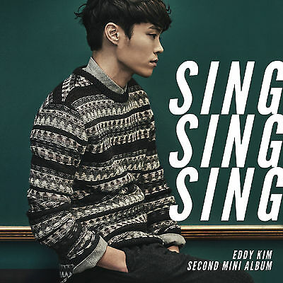 EDDY KIM - Sing Sing Sing (2nd Mini Album) CD