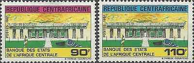 Timbres Centrafrique 468/9 * lot 7354