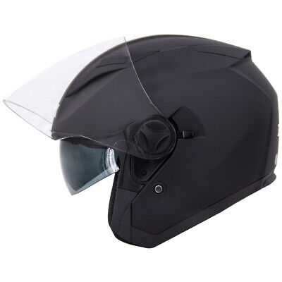 Leopard LEO-612 DVS Open Face Scooter Motorbike Motorcycle Helmet Crash LEO-612