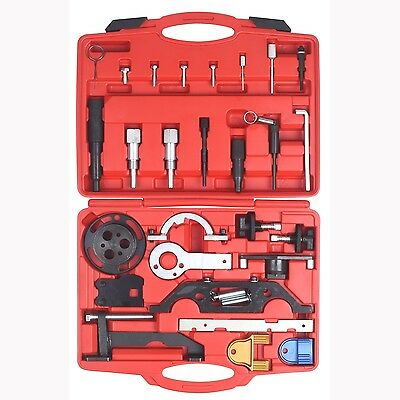 26Pc Timing Tool Set For Opel Vauxhall GM Water Pump Cam Lock Tool BlackLine
