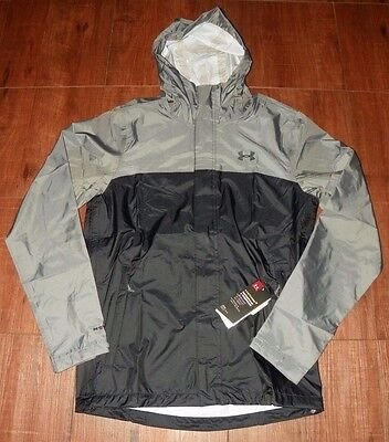 Under Armour Men's Storm 3 Waterproof & Wind Proof Rain Jacket, New With Tags